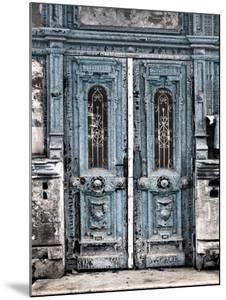 Vintage Door In Blue by Tanya Shumkina
