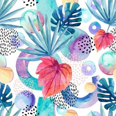 Abstract Tropical Geometric Pattern