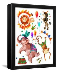Watercolor Circus by tanycya