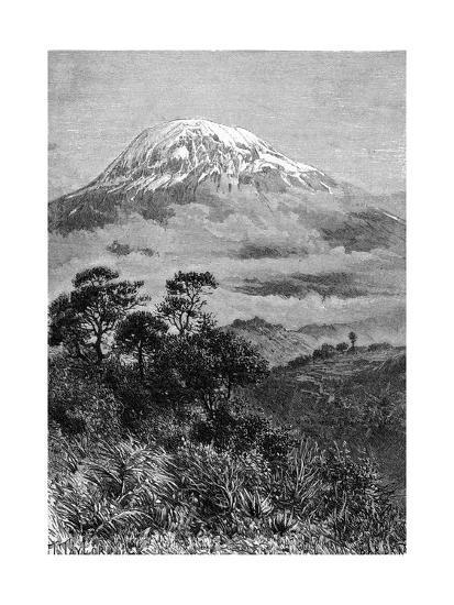 Tanzania, Kilimanjaro--Giclee Print