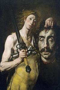 David with Goliath's Head, 1617-1624 by Tanzio da Varallo