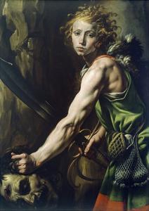 David with Goliath's Head, 1623-1625 by Tanzio da Varallo