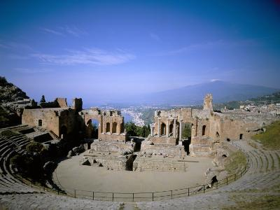 Taormina, Island of Sicily, Italy, Mediterranean-Oliviero Olivieri-Photographic Print