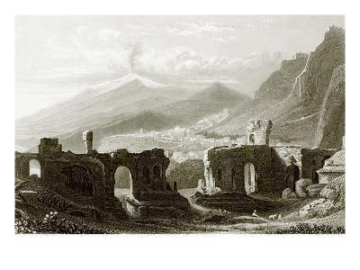 Taormina-English-Giclee Print