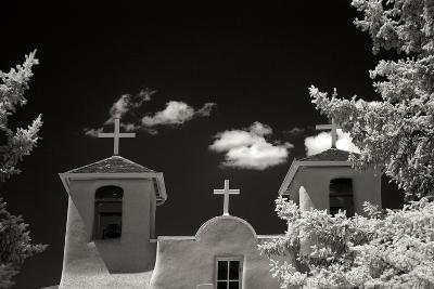 Taos Church II-George Johnson-Photographic Print