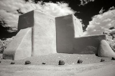 Taos Church III-George Johnson-Photographic Print