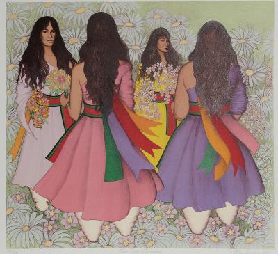 Taos Corn Dancers-Alice Asmar-Limited Edition