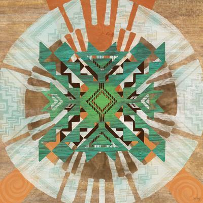 decorative boho accent unique pretty patchwork 16x16.htm taos dreams art print by bee sturgis art com  taos dreams art print by bee sturgis