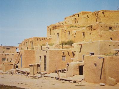 Taos Pueblo, New Mexico--Photographic Print