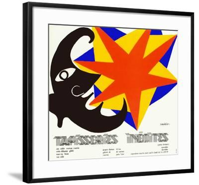 Tapisseries Inédites-Alexander Calder-Framed Collectable Print
