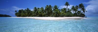 Tapuaetai Motu from the Lagoon, Aitutaki, Cook Islands--Photographic Print