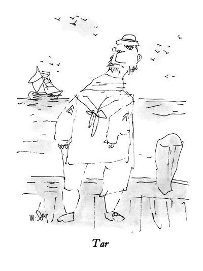 Tar - New Yorker Cartoon-William Steig-Premium Giclee Print