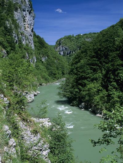 Tara Canyon and Tara River, Tramontana, Montenegro, Europe-Stuart Black-Photographic Print
