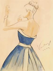 Blue Dress II by Tara Gamel