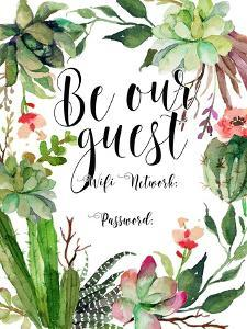 Be Our Guest Wifi by Tara Moss