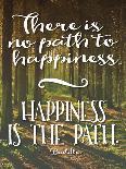 Buddha Path to Happiness-Tara Moss-Art Print