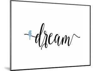 Dream Blue Bird by Tara Moss