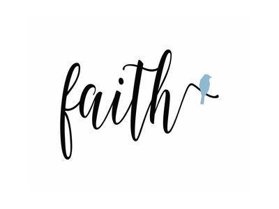 Faith Blue Bird