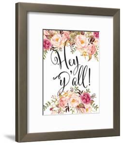 Hey Yall Floral by Tara Moss