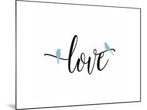 Love Blue Birds by Tara Moss
