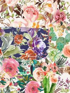 Multiple Florals Collage by Tara Moss