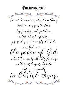 Philippians 4 by Tara Moss