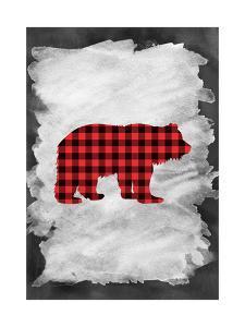 Plaid Bear by Tara Moss