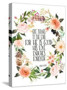Psalm 118 1 Wreath by Tara Moss