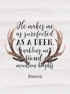 Psalm 18-33 by Tara Moss