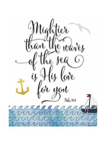 Psalm 93 4 Mightier Than the Waves