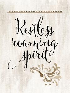 Restless Roaming Spirit by Tara Moss