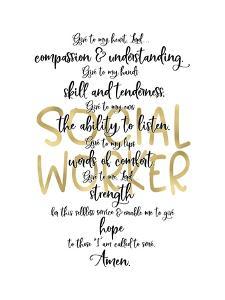 Social Worker Prayer by Tara Moss