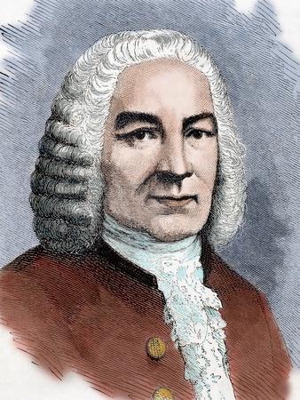 Bach, Johann Sebastian (1685-1750). German Composer.