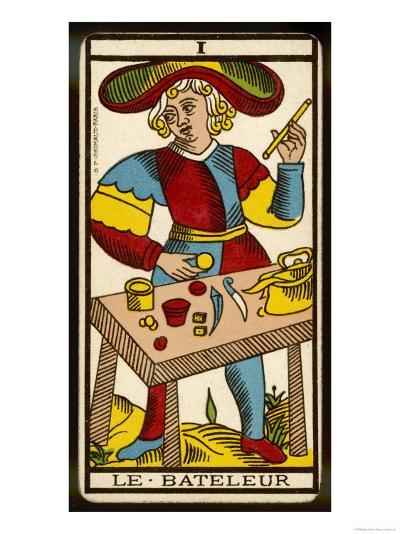 Tarot: 1 Le Bateleur, The Juggler--Giclee Print