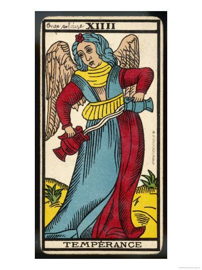 Tarot: 14 La Temperance--Giclee Print