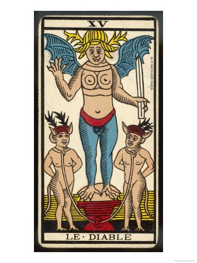 Tarot: 15 Le Diable, The Devil--Giclee Print