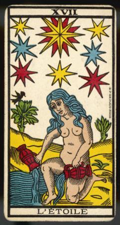 Tarot: 17 L'Etoile, The Star