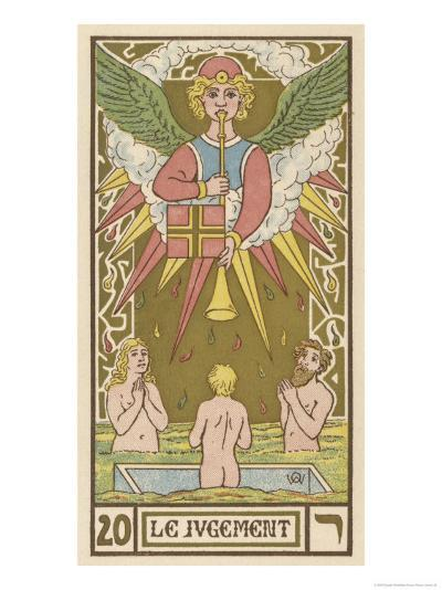 Tarot: 20 Le Jugement, The Judgment-Oswald Wirth-Giclee Print