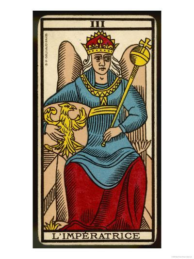 Tarot: 3 L'Imperatrice, The Empress--Giclee Print