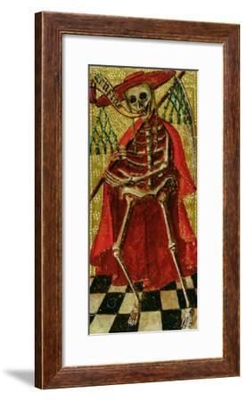 Tarot Card Representing Death--Framed Giclee Print