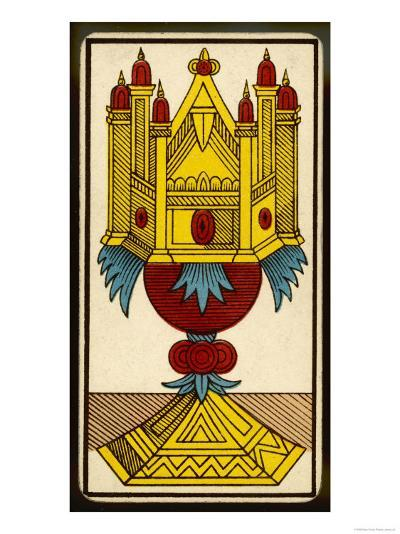 Tarot: The Ace of Cups--Giclee Print