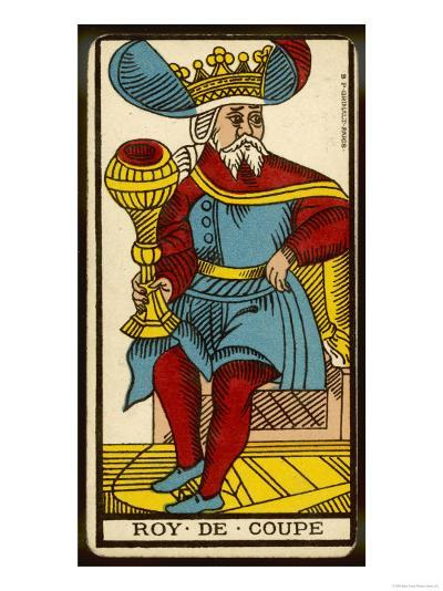 Tarot: The King of Cups--Giclee Print