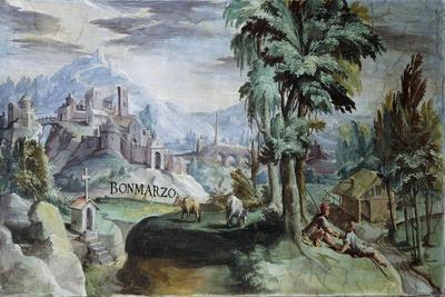 View of Bomarzo, 1592