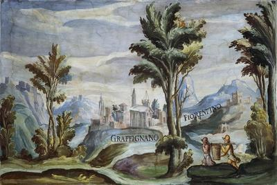View of Graffignano, 1592