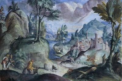 View of Mugnano, 1592