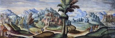 View of Piansano, 1592