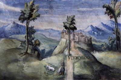 View of Vitorchiano, 1592