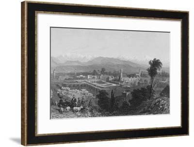 Tarsus, a City in Cilicia-William Henry Bartlett-Framed Giclee Print