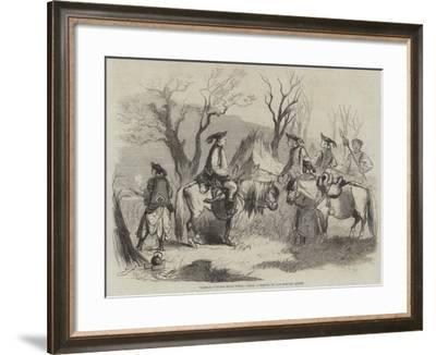 Tartar Outpost Near Pekin--Framed Giclee Print