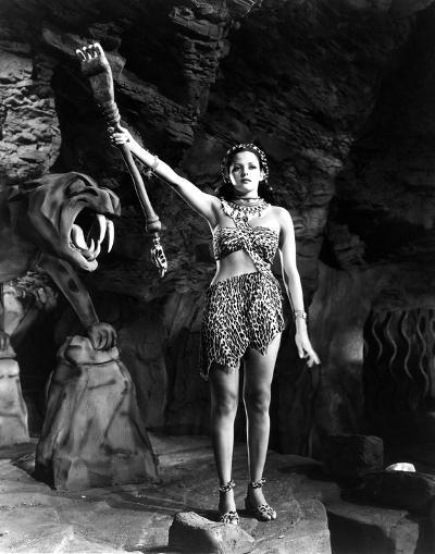 Tarzan and the Leopard Woman--Photo